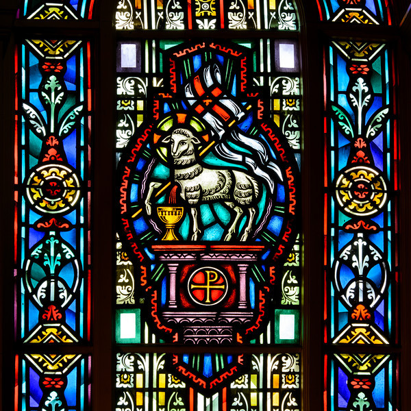St Bridgets Church, easter window