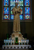 St. Bridget's church, St. Peter's Chair window, St. Anthony statue<br /> <br /> Statue - St. Anthony