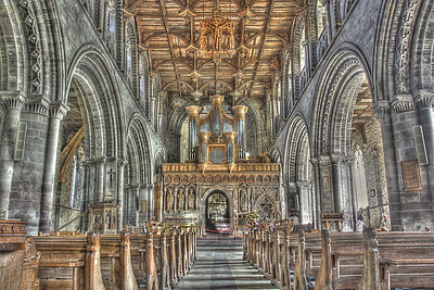 The Nave at St David's Cathedral