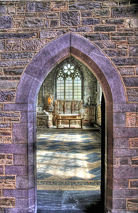 Arch to St. Edwards chapel