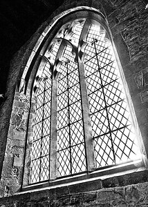 Black and White Window