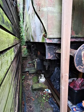 L&SWR BT No 179 on unknown SR underframe