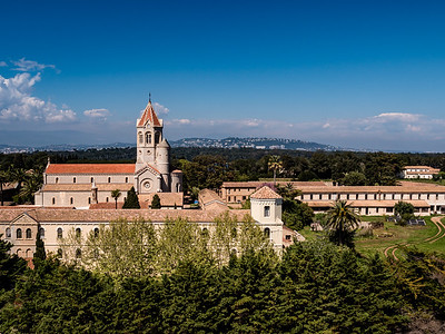 Ile St-Honorat, Cannes, Cote d'Azur (France)