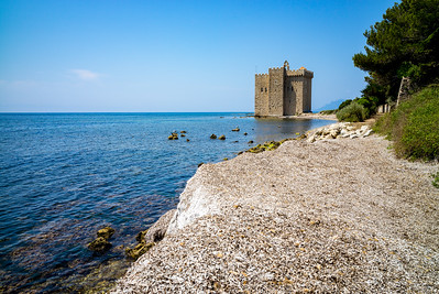Iles de Lerins, Saint-Honorat, Cannes, Cote d'Azur (France)