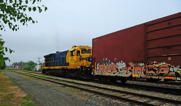 Montreal Maine & Atlantic #810, Canadian Pacific Adirondack, St-Jean, Qc