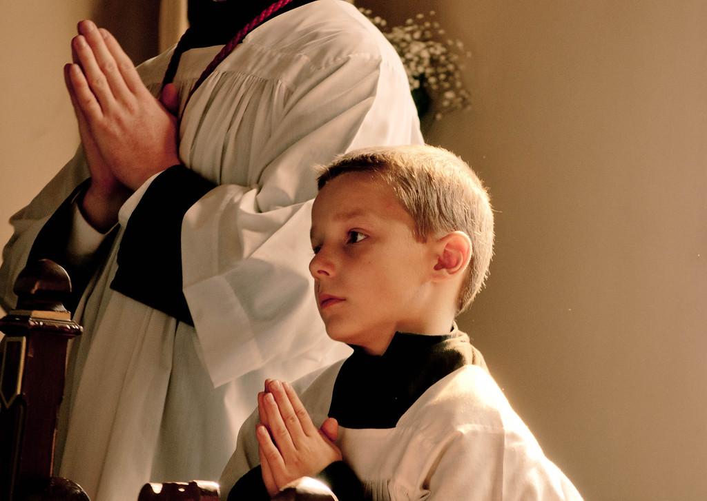 St. John Berchman, Patron of Altar Boys Pray for us!