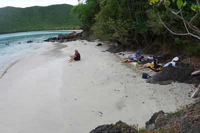 Our beach at Maho
