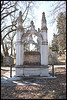 "Jacob Geiger mausoleum/tombstone.  Possibly the most elaborate of the mausoleums on ""mausoleum row""."