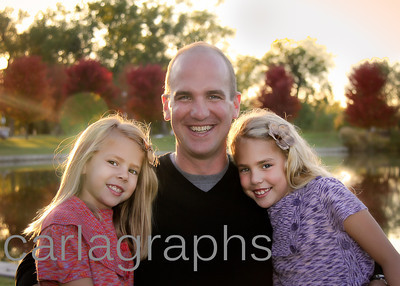 Dad and His Girls-1