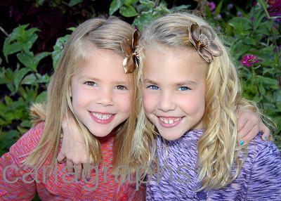 Anna and Caroline Close Up Garden-1