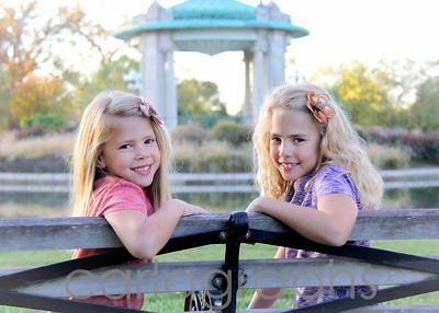 Girls on Bench-