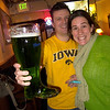 Celebrating St Paddy's day and Match Day for the USWOM seniors!