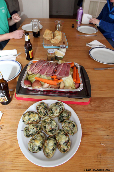 St. Patrick's Day Feast 2013