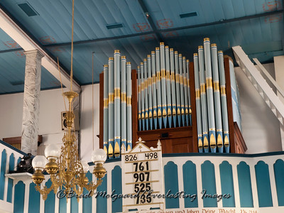 Organ pipes - St. Paul's Lutheran-Serbin, Texas