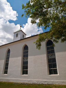 Sanctuary windows, three - St. Paul's Lutheran-Serbin, Texas