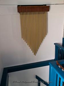 Loft chimes - St. Paul's Lutheran-Serbin, Texas
