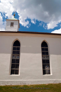 Sanctuary windows - St. Paul's Lutheran-Serbin, Texas