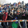 Pat Christman<br /> Fans brave the cold to watch the St. Peter Polar Plunge Saturday.