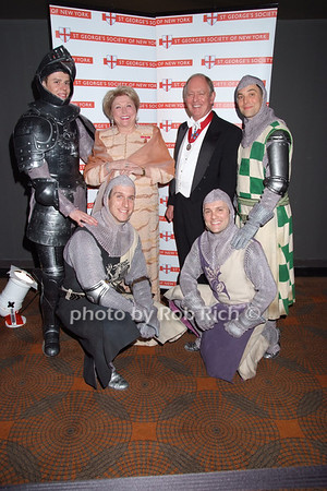 Barbara Taylor Bradford, Peter Felix,  Broadway Knights of Monty Python's Spamalot photo by Rob Rich © 2008 robwayne1@aol.com 516-676-3939