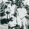Harold Stack, Larry Stack, Edward Stack(sr), Morris Stack, and Anna Knops Stack.