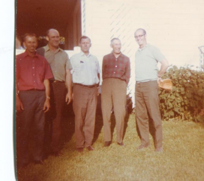 Ed Stack,  Morris Stack,  Larry Stack,  Ed Stack(sr),  Harold Stack.