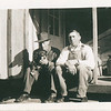 "Frank Heiss and Ed Stack.<br /> <br /> On the back is someone had written :: ""Bremerton, Wash.""."