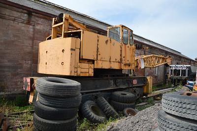 Coles Bogie Diesel Crane PO 53   26/07/14.