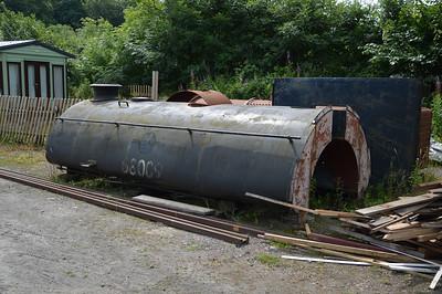 0-6-0ST 68009 Parts of lying around  26/07/14.