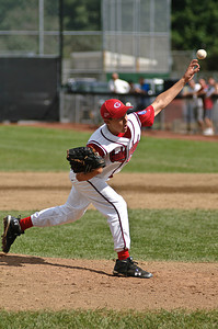 Guilderland MVP and Starting PitcherAlex Varsanyi thows a pitch during the 2011 Babe Ruth World Series Game against Clifton Park Friday Morning. Photo By Eric Jenks 8/27/11