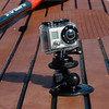 SUP with Go Pro camera attached by a Tallon RAM-Mount