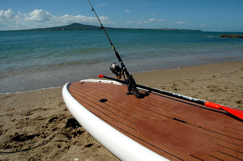 SUP Fishing using the RAM Rod Holder and Tallon Ram Connector