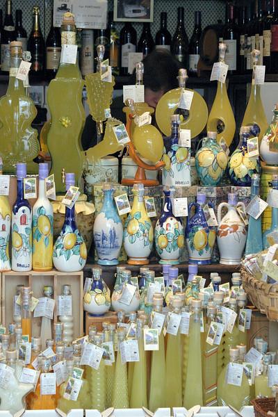Limoncello Shop Ravello, Italy