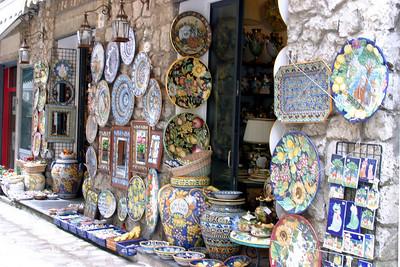 Ceramic Shop Ravello, Italy