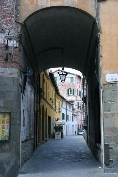 Via Fillungo Lucca, Italy