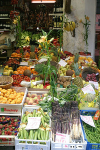 Produce Shop Siena, Italy