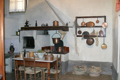 Kitchen, Villa Phanner Lucca, Italy