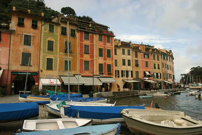 Left side Harbor View Portofino, Italy
