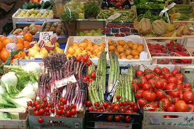 Vegie Market Genova, Italy