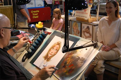 Cali Geeting Caricature #7 - Great State Fair of Texas