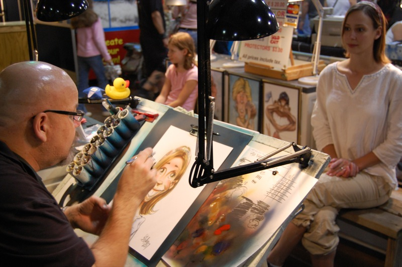 Cali Geeting Caricature #6 - Great State Fair of Texas