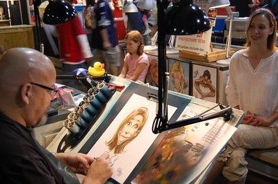 Cali Geeting Caricature #4 - Great State Fair of Texas
