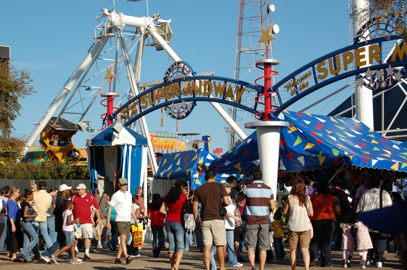Midway - Great State Fair of Texas