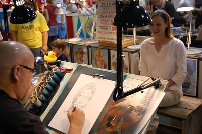 Cali Geeting Caricature #3 - Great State Fair of Texas