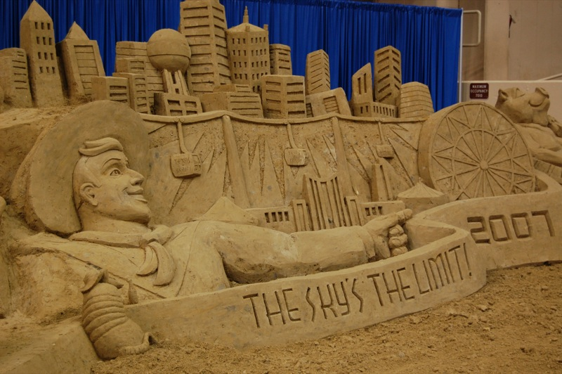 Sand Sculpture - Great State Fair of Texas