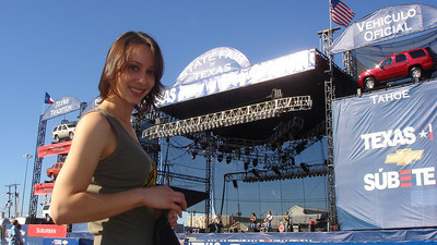 Cali Lewis at the State Fair of Texas