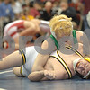 2013 Iowa High School State Individual Tournament - 1A <br /> 5th Place Match<br /> Jake Hunerdosse (Southeast Warren) 40-8, So. over Jared Coyle (Maquoketa Valley, Delhi) 44-9, Jr. (Dec 5-1).