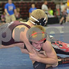 2013 Iowa High School State Individual Tournament - 1A <br /> Semifinals -<br /> 145 Evan Hansen (EHK-Exira) dec Cody Marks (Nashua-Plainfield) 5-2