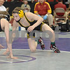 2013 Iowa High School State Individual Tournament - 3A <br /> Semifinals -<br /> 106 Jacob Schwarm (Bettendorf) dec Nolan Hellickson (SE Polk) 8-6