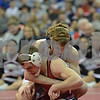 2014 Iowa High School State Finals Class 1A<br /> 1A-126<br /> 1st Place Match - Brady Ruden (Wilton) 51-1 won by major decision over Joel Haberman (Clarion-Goldfield) 35-8 (MD 12-4)