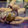 2014 Iowa High School Athletic Association State Championships <br /> 106<br /> Semifinal - Justin Portillo (Clarion-Goldfield) 25-3 won by major decision over Brock Henderson (North-Linn, Troy Mills) 38-6 (MD 12-2)